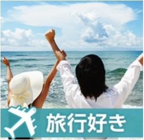 国内、海外旅行が好きな男女が集合するパーティー